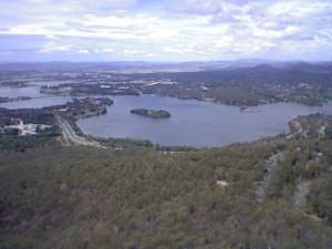 Canberra lake