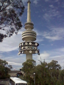 Canberra's TV tower