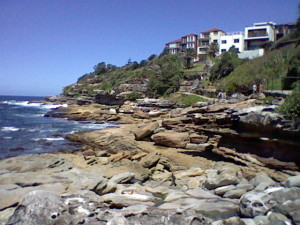 The coastal walkway