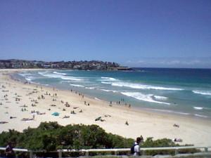 Bondi beach very close to Sydney