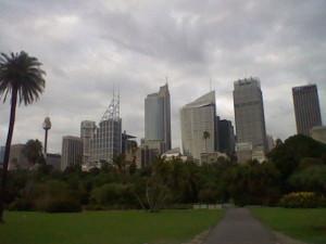 Downtown Sydney - at around 7 am