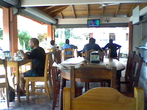 Restaurant in Jaco, Costa Rica