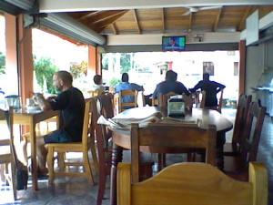 Restaurant in Jaco, Costa Rica