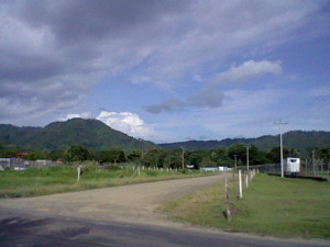 On the way to the beach in Jaco, Costa Rica