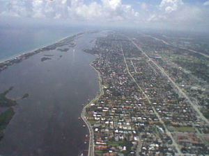 The Eastern Coast of Florida