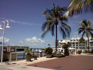 The Western part of Key West
