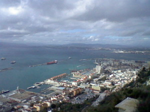 The city of Gibraltar