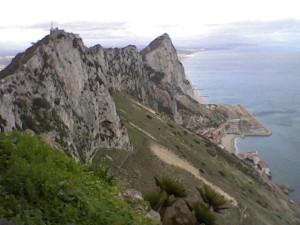 Looking North towards Spain